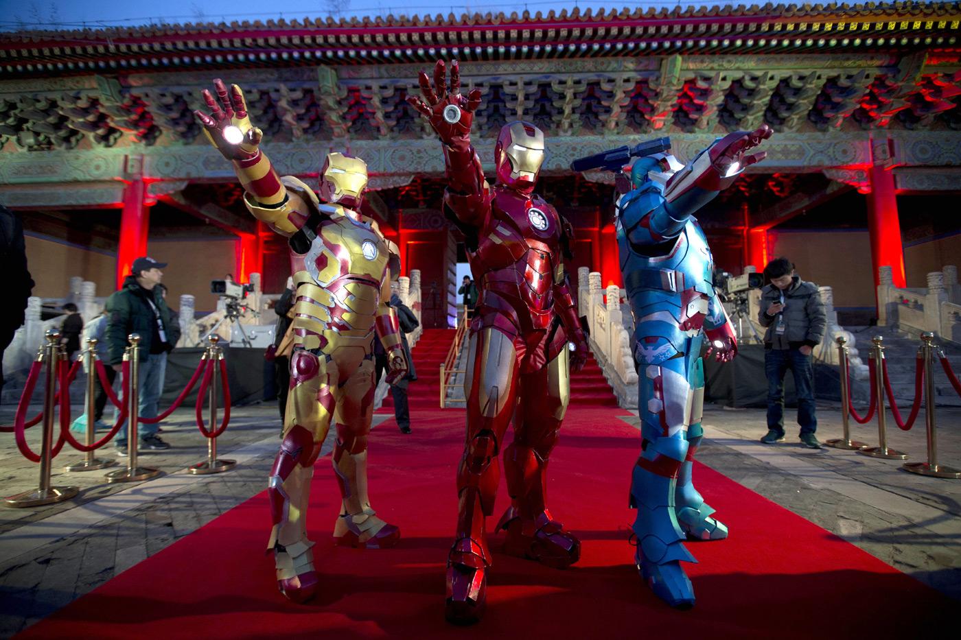 """EE.UU. quiere trajes como los de """"Iron Man"""" para sus soldados"""